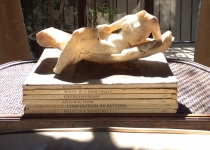 Antique alabaster sculpture found in Arezzo Italy at the world